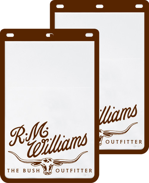 R.M.Williams Mud Flaps - White