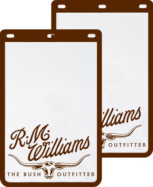 R.M.Williams Mud Flaps - White