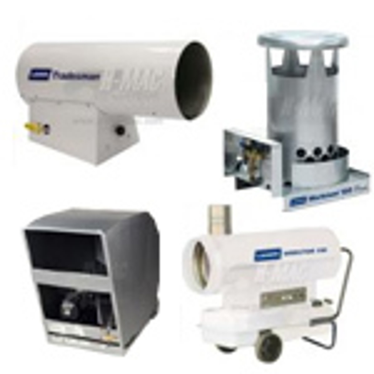 Gas Construction Heaters