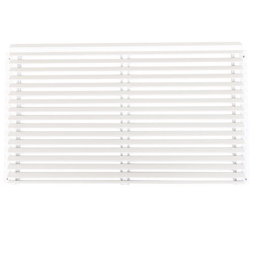 Amana AH18AGK01WB Rear Architectural Outdoor Grille, Aluminum, White