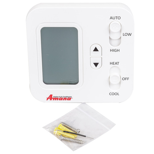 Amana PHWT-A150H Wired Wall Thermostat, Digital Display, NON-Programmable