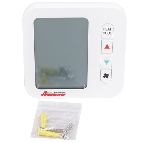 Amana PHWT-A200 Wired Wall Thermostat, Digital Display, Programmable