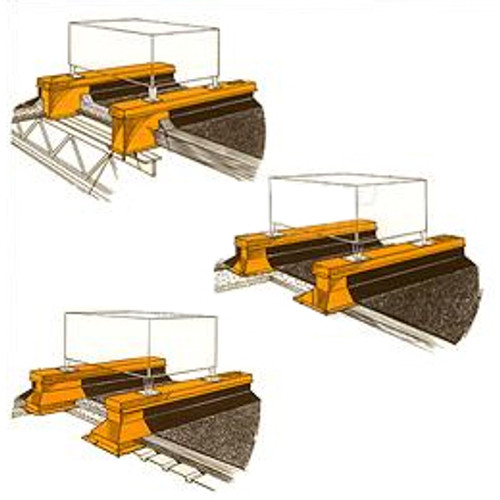 RPS Equipment Rails (Generic Picture For Reference Only - See Datasheets For More Information)