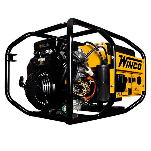 Winco W10000VE 24010-002 Generator, Electric Start (Battery Not Included), 9,600 Watts, Briggs And Stratton Gasoline Engine