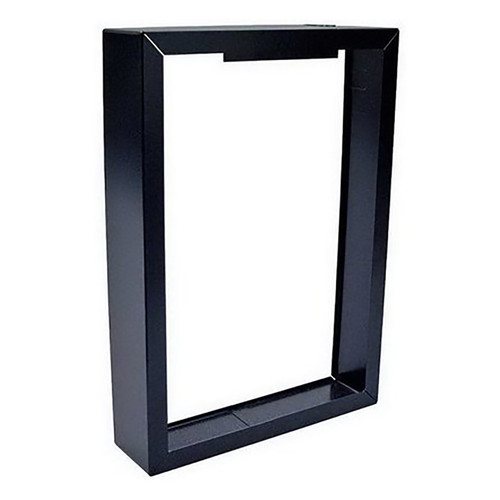 QMark SMHTSSBL Surface Mounting frame - Black