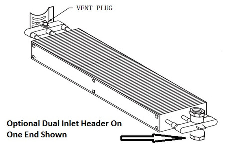 Convector Element EL832-A (Generic Picture Shown For Reference Only)