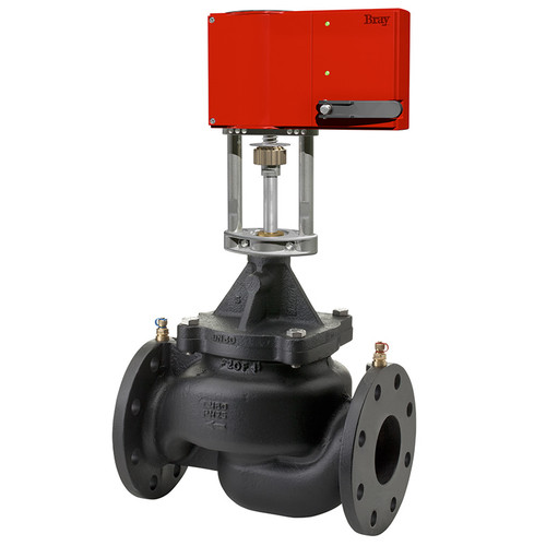 Picture Shown Is A Bray Simple Set Max PIC Valve With GA Series Actuator