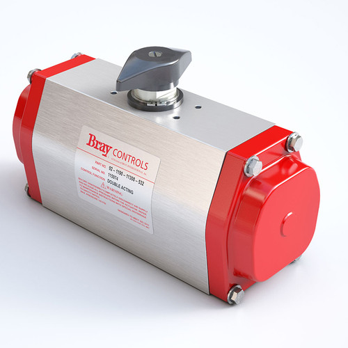 Picture Shown Is A Bray Series 93 Pneumatic Actuator