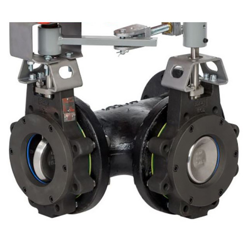 Picture Shown Is A Bray 3 Way High Performance Butterfly Valve