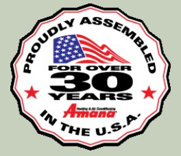 Amana PTAC Units Are Made In the USA!
