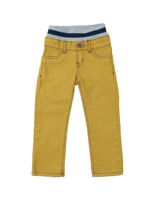 Twill Pants - Mustard Garment Dyed