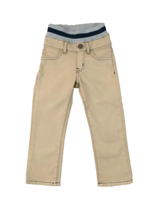 Twill Pants - Khaki Garment Dyed