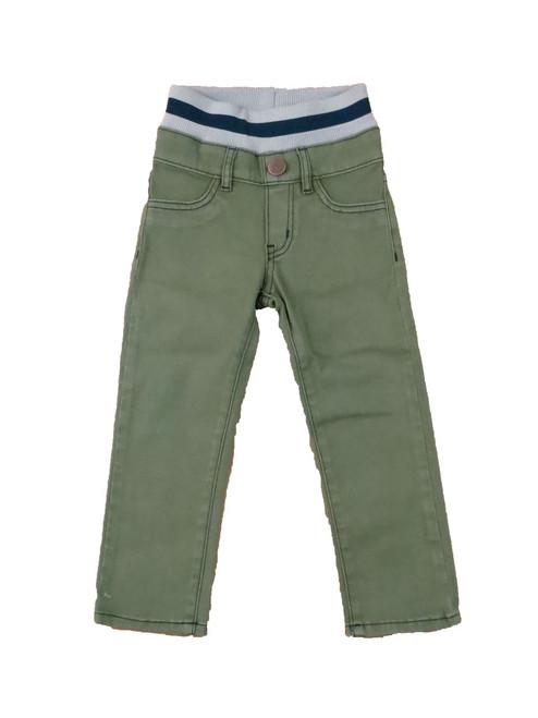 Twill Pants Olive