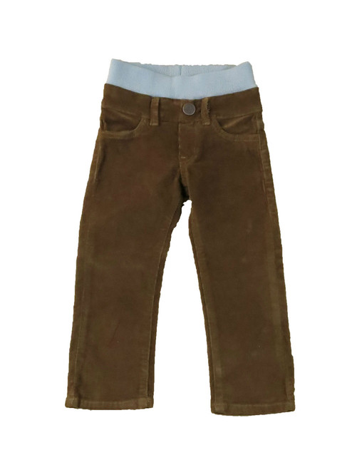 Corduroy Pants - Brown Garment Dyed