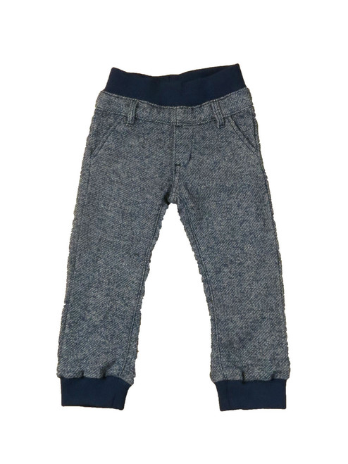 Navy French Terry Jogger Pants