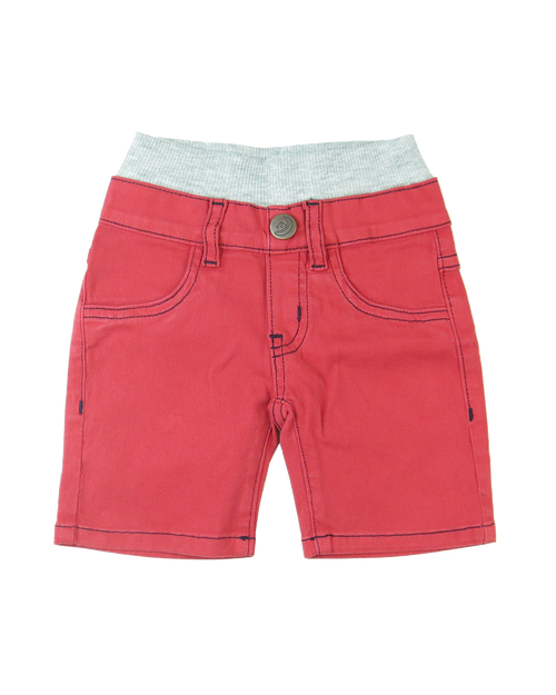 Twill Shorts - Firehouse Red