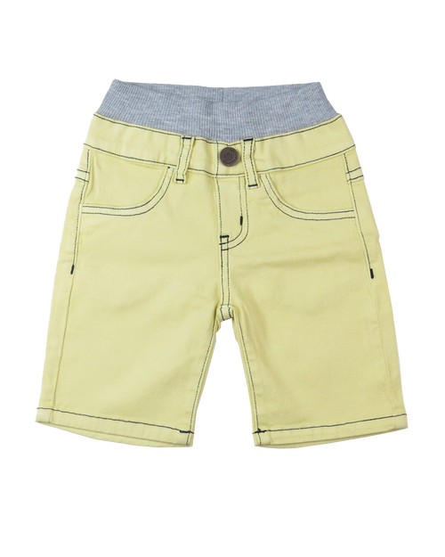 Twill Shorts - Safari Yellow