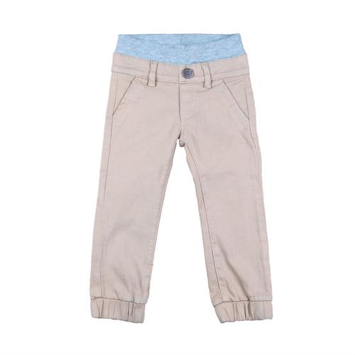 Twill Jogger Pants - Khaki Garment Dyed