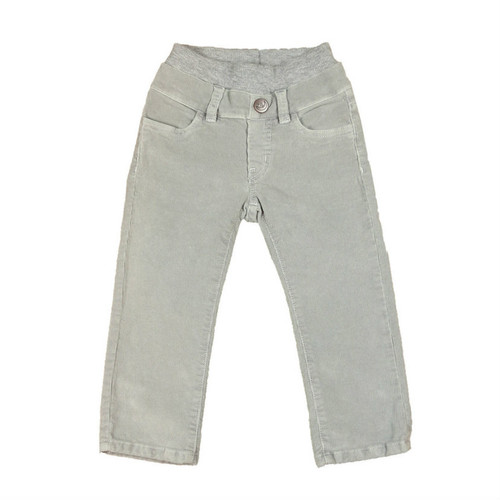 Corduroy Pants - Cool Grey Garment Dyed