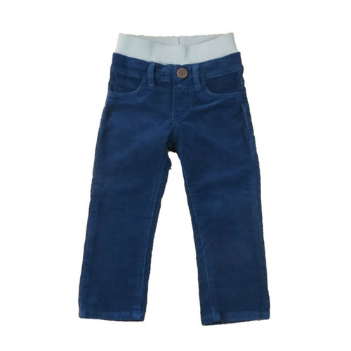 Corduroy Pants - Navy Garment Dyed