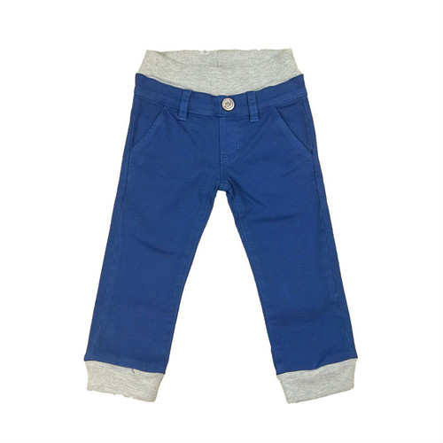 Twill Jogger Pants - Royal Navy