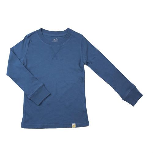 Crew Long Sleeve - Garment Dyed Teal