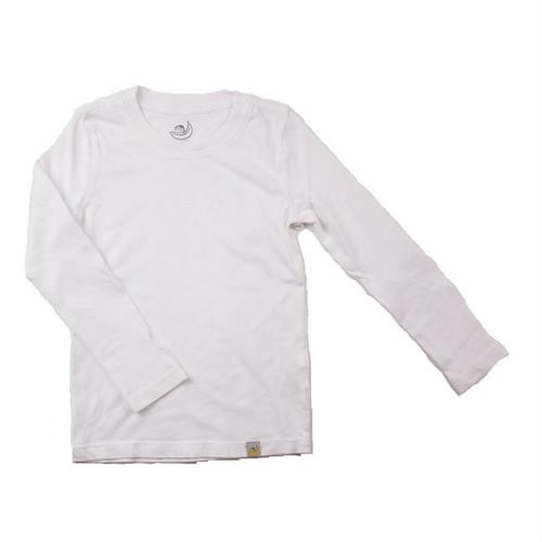 Basic Long Sleeve - Garment Dyed White