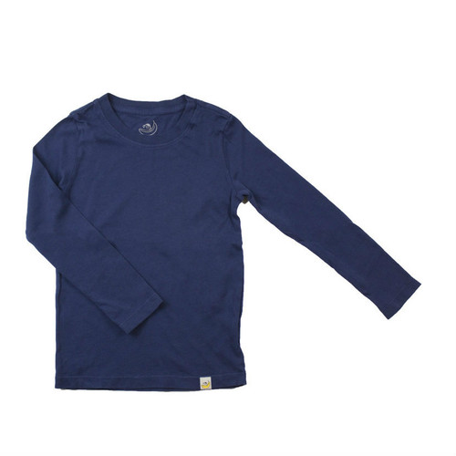 Basic Long Sleeve - Garment Dyed Navy