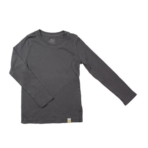 Basic Long Sleeve - Garment Dyed Charcoal