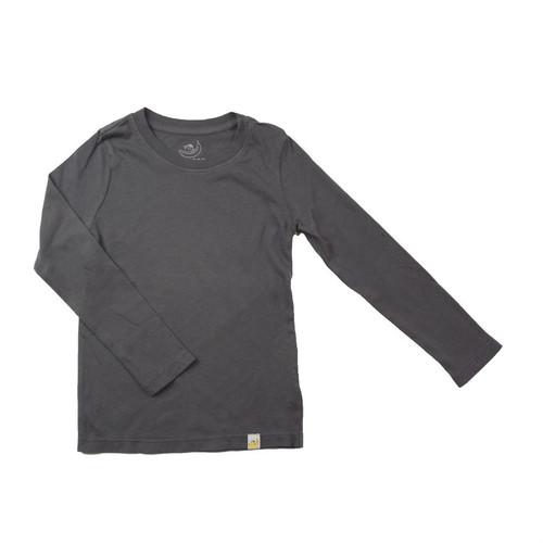 Basic Long Sleeve - Garment Dyed Charcoal