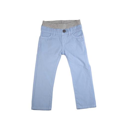 Poplin Pants - Light Slate Garment Dyed