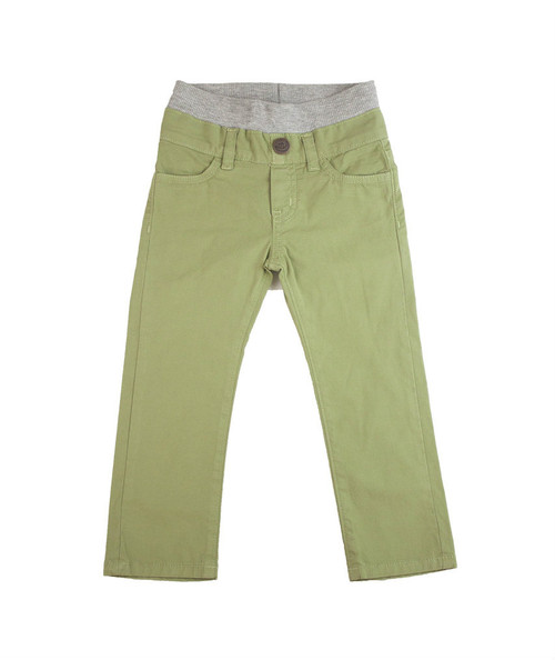 Poplin Pants - Sage Green Garment Dyed