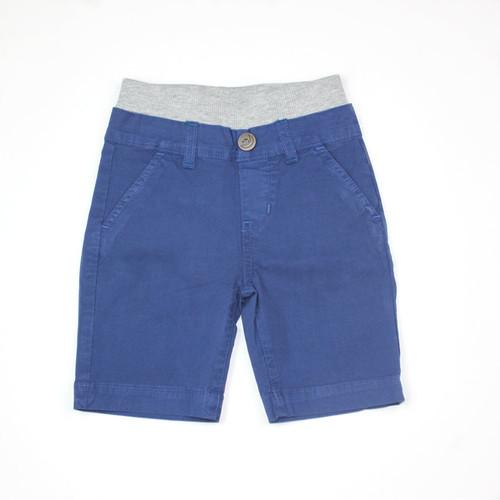 Poplin Shorts - Royal Navy Garment Dyed