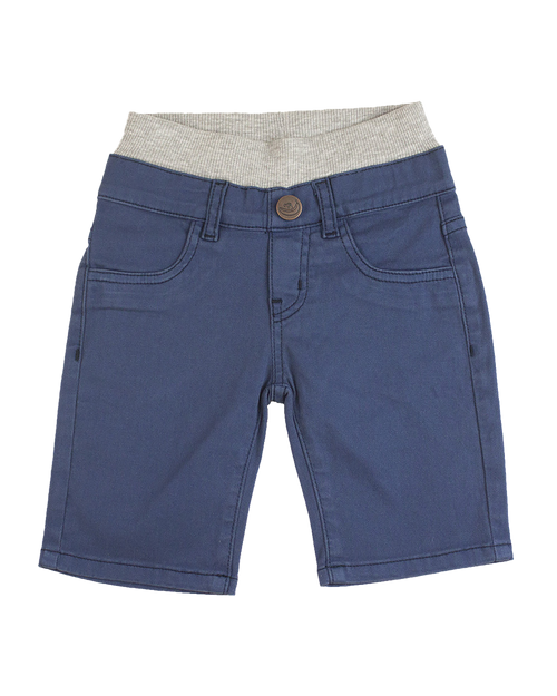 Twill Shorts - Royal Navy Garment Dyed