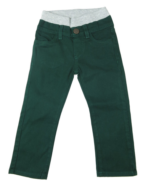 Twill Pants - Hunter Green Garment Dyed