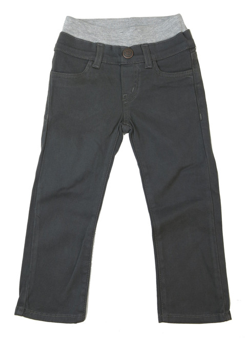 Twill Pants - Charcoal Garment Dyed