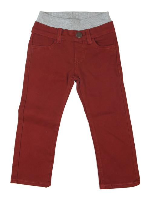 Twill Pants - Terracotta Garment Dyed