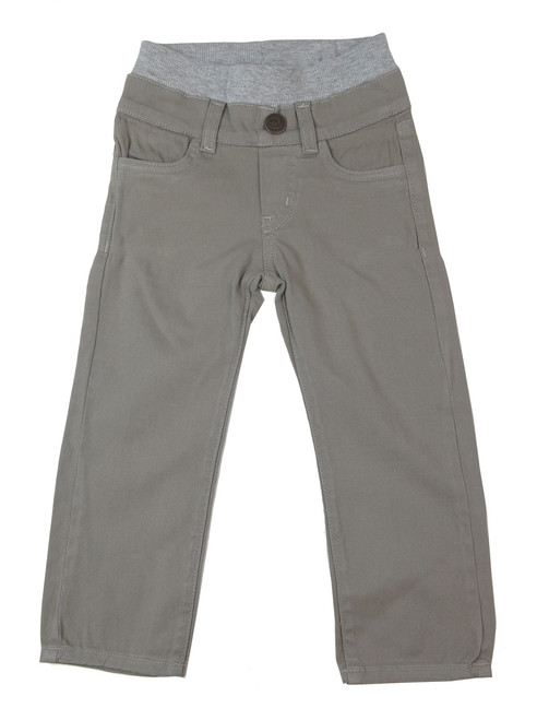 Twill Pants - Taupe Garment Dyed