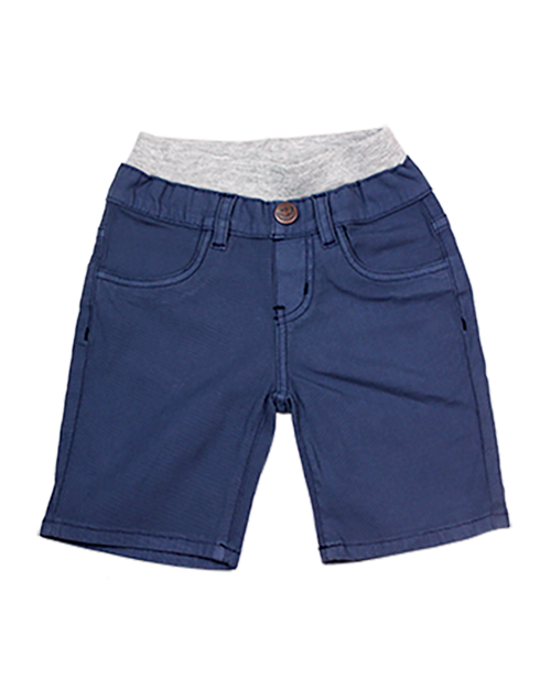 Twill Shorts -Cadet Navy Garment Dyed