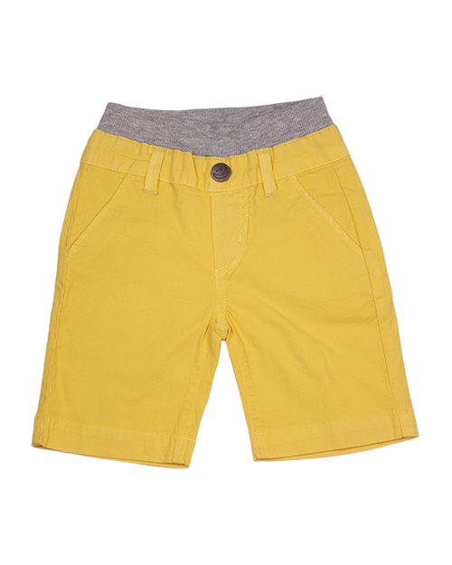 Poplin Shorts - Banana Garment Dyed