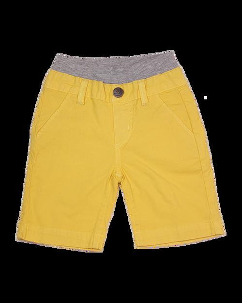 Poplin Shorts - Banana Garment Dyed