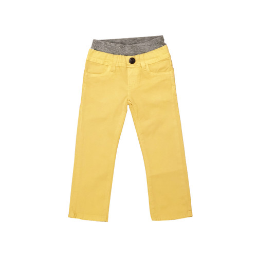 Poplin Pants - Banana Garment Dyed