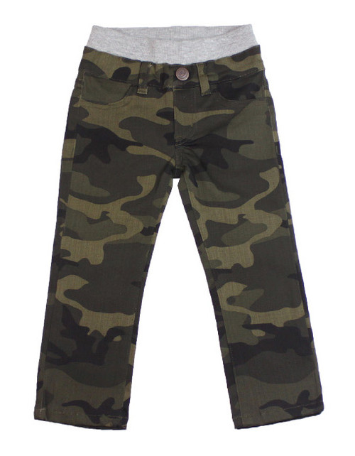 Camo Twill Pants - Army