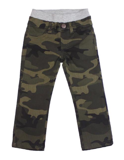 Camo Twill Pants - Army
