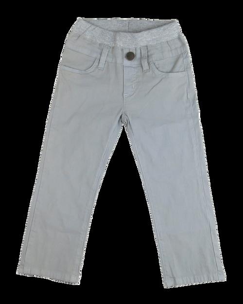Poplin Pants - Cool Grey Garment Dyed