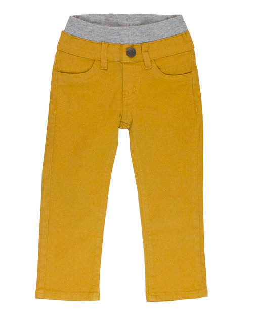 Twill Pants - Yellow Gold Garment Dyed