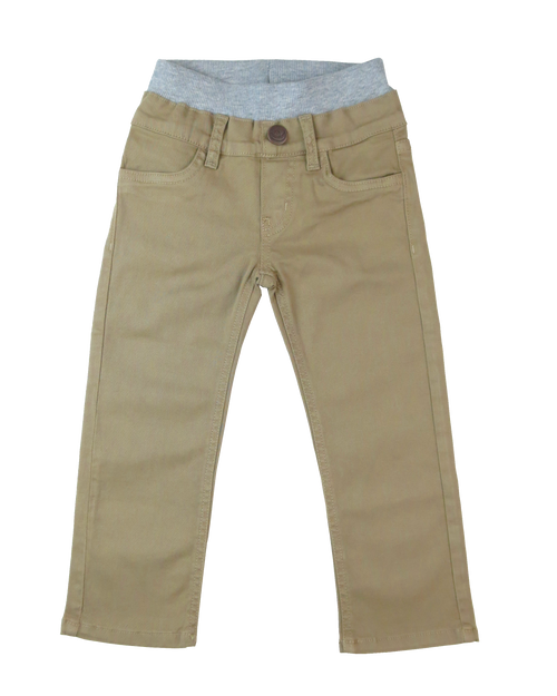 Twill Pants - British Khaki Garment Dyed