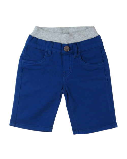 Twill Shorts - Navy Garment Dyed