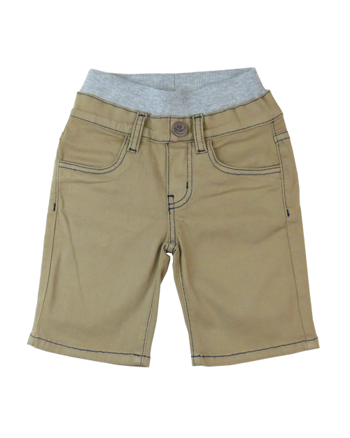 Twill Shorts - British Khaki Garment Dyed