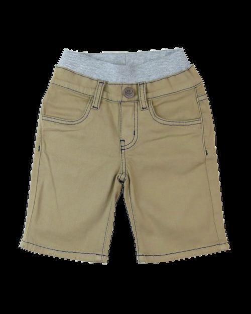 Twill Shorts - British Khaki Garment Dyed